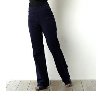 Women with Control Contour Waist Bootcut Trouser - 100990