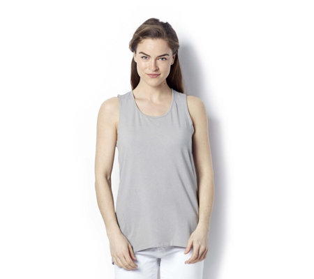 Cuddl Duds Sport Layer Criss Cross Back Vest Top