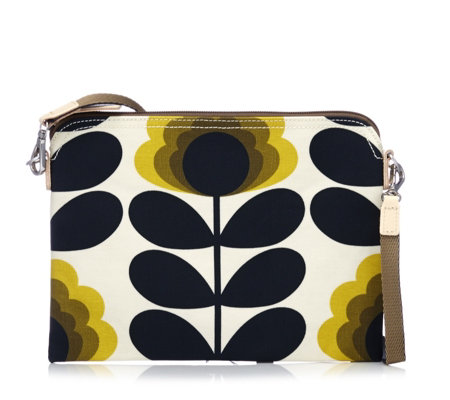 Orla Kiely Summer Flower Stem Travel Pouch