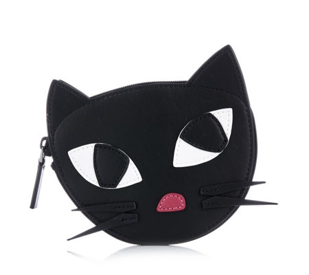 Lulu Guinness Kooky Cat Foldaway Shopper Bag