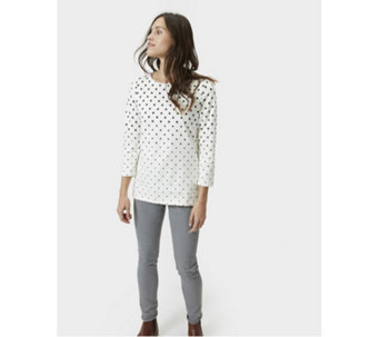 Joules Harbour Print Jersey Top - 168991