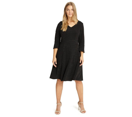 Studio 8 by Phase Eight Fluted Sleeve Detail Rochelle Dress
