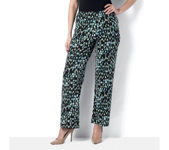 Mosaic Print Trousers by Michele Hope - 162593