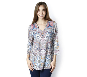 Fashion by Together Printed Woven Blouse - 163193