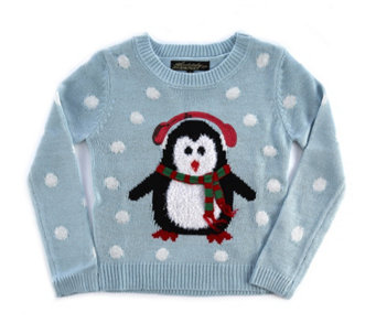 Absolutely Famous Childrens Penguin Christmas Jumper - 155494
