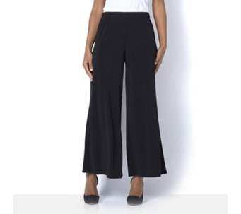 Petite Palazzo Trousers by Michele Hope - 162594