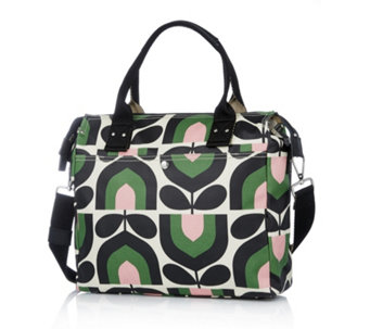Orla Kiely Stripe Tulip Print Zip Messenger Bag - 164794