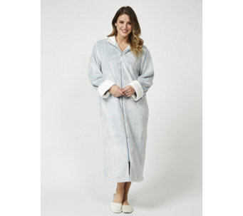 Carole Hochman Frosted Silky Plush Robe - 167294