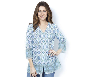 Fashion by Together Embellished Hem Blouse - 163195