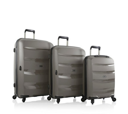 Heys Athena 3pc Lightweight Luggage Set with Duraflex