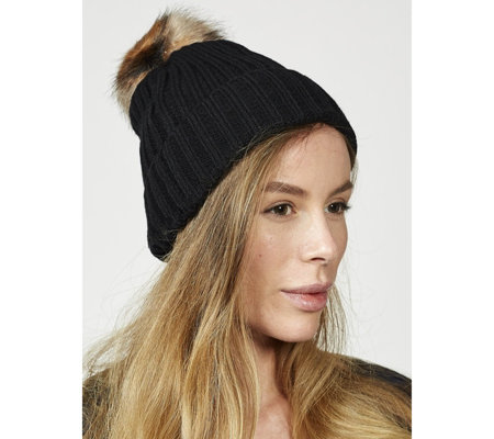 Pia Rossini Chloe Hat with Detachable Bobble