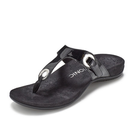 Vionic Orthotic Lana Toe Post Sandal with FMT Technology