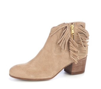 Manas Fringed Ankle Boot - 163996