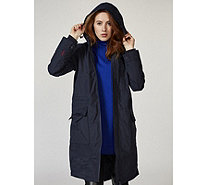 Joules Stormont Waterproof Parka Fleece Lining - 168996
