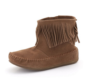 Emu Dune Collection Avoca Fringe Ankle Boots - 165697