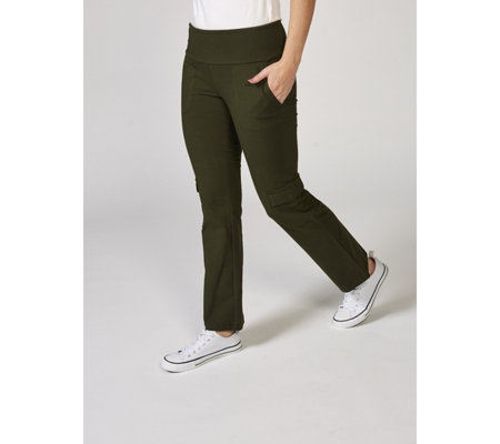 Women with Control Tummy Control Pull On Regular Cargo Trousers