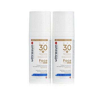 Ultrasun Sun Protection Tinted Face SPF30 50ml Duo - 205601