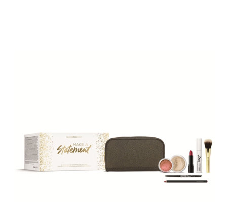 bareMinerals Make a Statement 7 Piece Make-up Collection & Bag