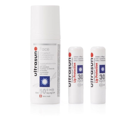 Ultrasun Anti-Pigmentation Face SPF50+ 50ml & Lip Duo Kit