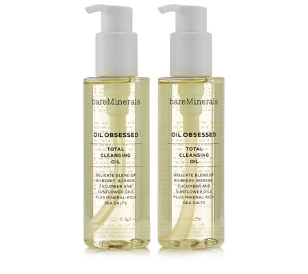 bareMinerals Oil Obsessed Total Cleansing Oil Duo 180ml
