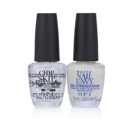 OPI 2 Piece No Chips Matte Nail Envy & Chip Skip