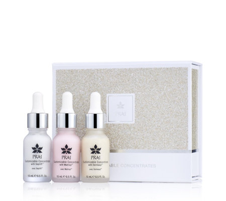 Prai 3 Piece Customisable Concentrates Gift Box