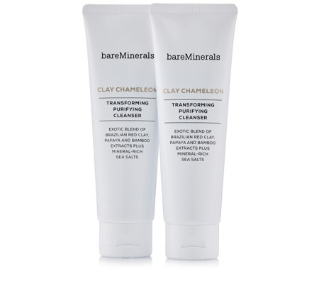 bareMinerals Clay Chameleon Transforming Purifying Cleanser Duo 120g