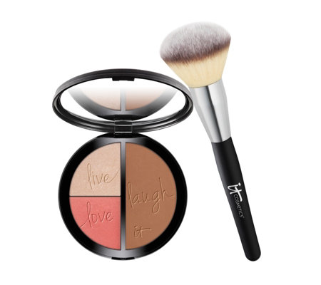 IT Cosmetics Your Most Beautiful You Face Disc & Jumbo Brush