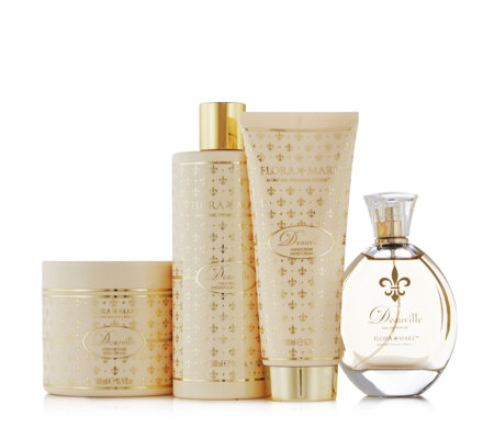 Flora Mare 4 Piece Deauville Fragrance Collection