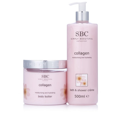 SBC 2 Piece Collagen Shower & Body Collection