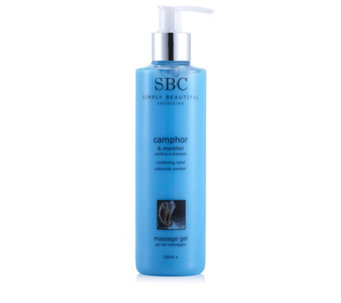 SBC Camphor & Menthol Massage Gel 250ml - 206704