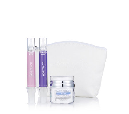 Bio-Extracts 3 Piece Home Lab Anti-Ageing Collection