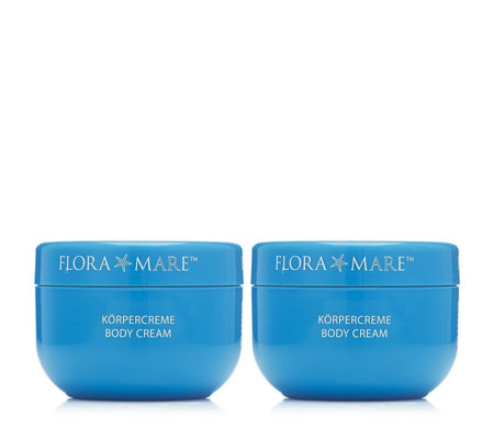 Flora Mare Body Cream 200ml Duo