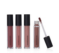 Bareminerals 4 Piece In the Nude Neutral Lip Collection - 232605