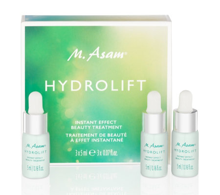 M. Asam Hydrolift Instant Effect Beauty Treatment 3 x 5ml