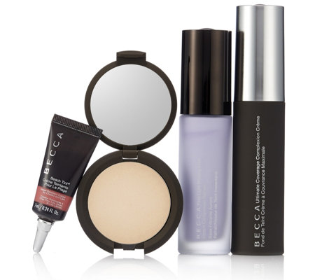 Becca 4 Piece Ultimate Glow Complexion Kit