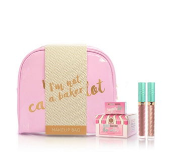 Beauty Bakerie 4 Piece Lip Whip Collection & Bag - 234206