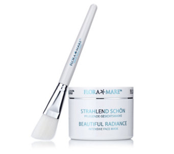 Flora Mare Beautiful Radiance Intensive Mask with Brush - 208407