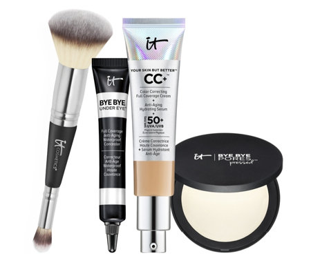 It Cosmetics 4 Piece Your Complexion Perfection Make-up Collection