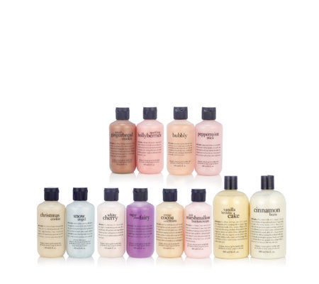 Philosophy 12 Treats of Christmas Shower Gel Collection