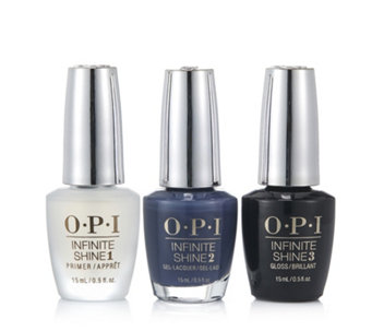 OPI 3 Piece Infinite Shine Less Is Norse Collection - 233807