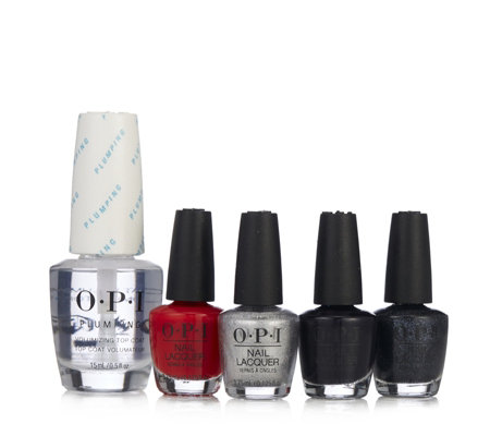 OPI  4 Piece Mini Pack With Plumping Top Coat