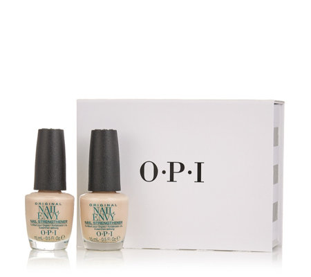 OPI Nude Nail Envy Duo with Gift Box