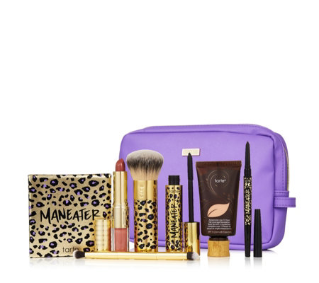 Tarte 7 Piece Maneater Make-up Collection & Bag