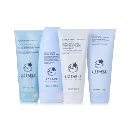 Liz Earle 4 Piece Hair & Body Heroes
