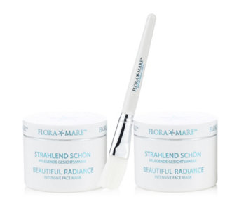 Flora Mare Beautiful Radiance Intensive Mask 100ml Duo with Brush - 216609