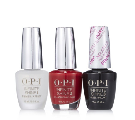 OPI 3 Piece Infinite Shine Collection