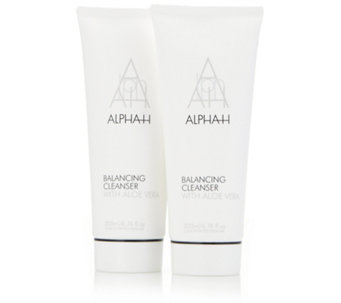Alpha-H Balancing Cleanser 200ml Duo - 219110
