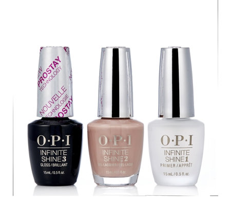 OPI 3 Piece Infinite Prime & Shine Collection