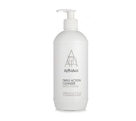 Alpha-H Supersize Triple Action Cleanser 500ml